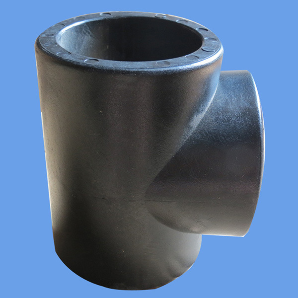 Manufacturer Price HDPE Straight Tee Butt Welding Equal Tee