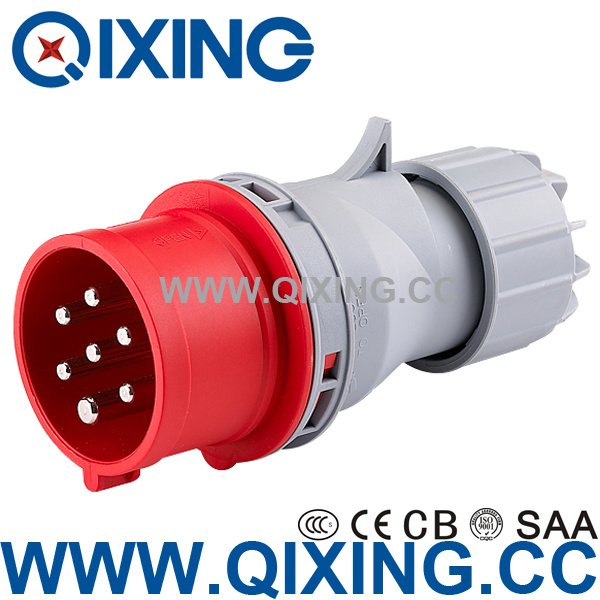 Cee Waterproof 400V 7-Pin Plug&Socket (QX742)