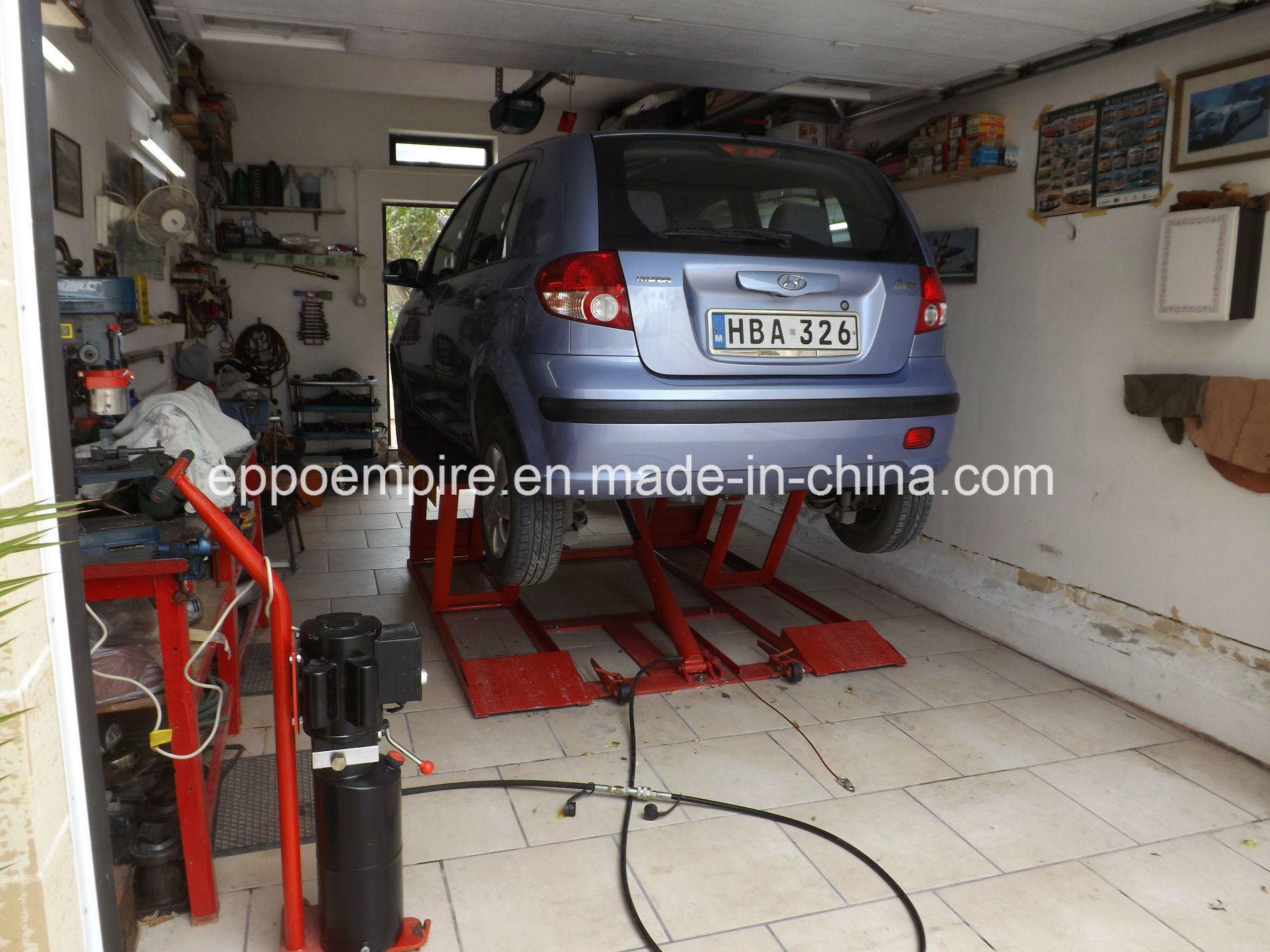 Hydraulic Portable Car Scissor Lift Home Use