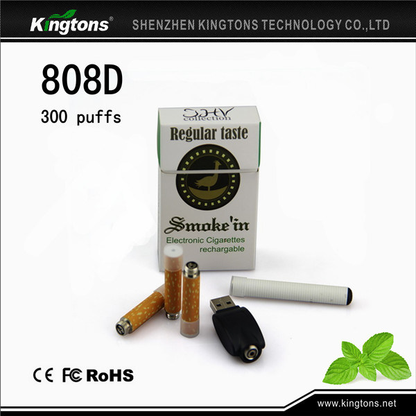 Kingtons E Cigarette Starter Kit 808d Rechargeable Battery