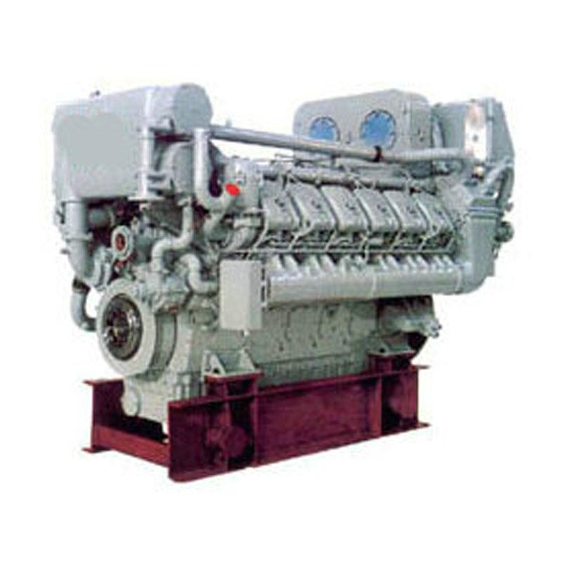 China Deutz MWM TBD620-V12 Main Propulsion Marine Diesel Engine ...