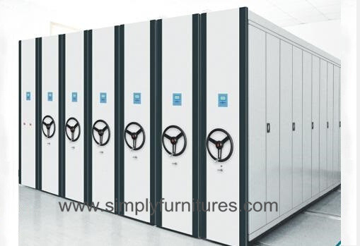 Mobile Racks, Mobile Compactors Storage System (T4B-04S)