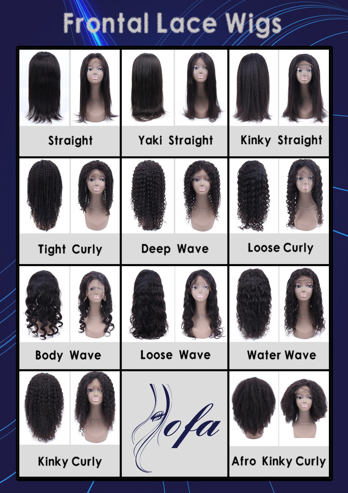 Long Full Human Hair Medium Cap 140% Density Lace Wig