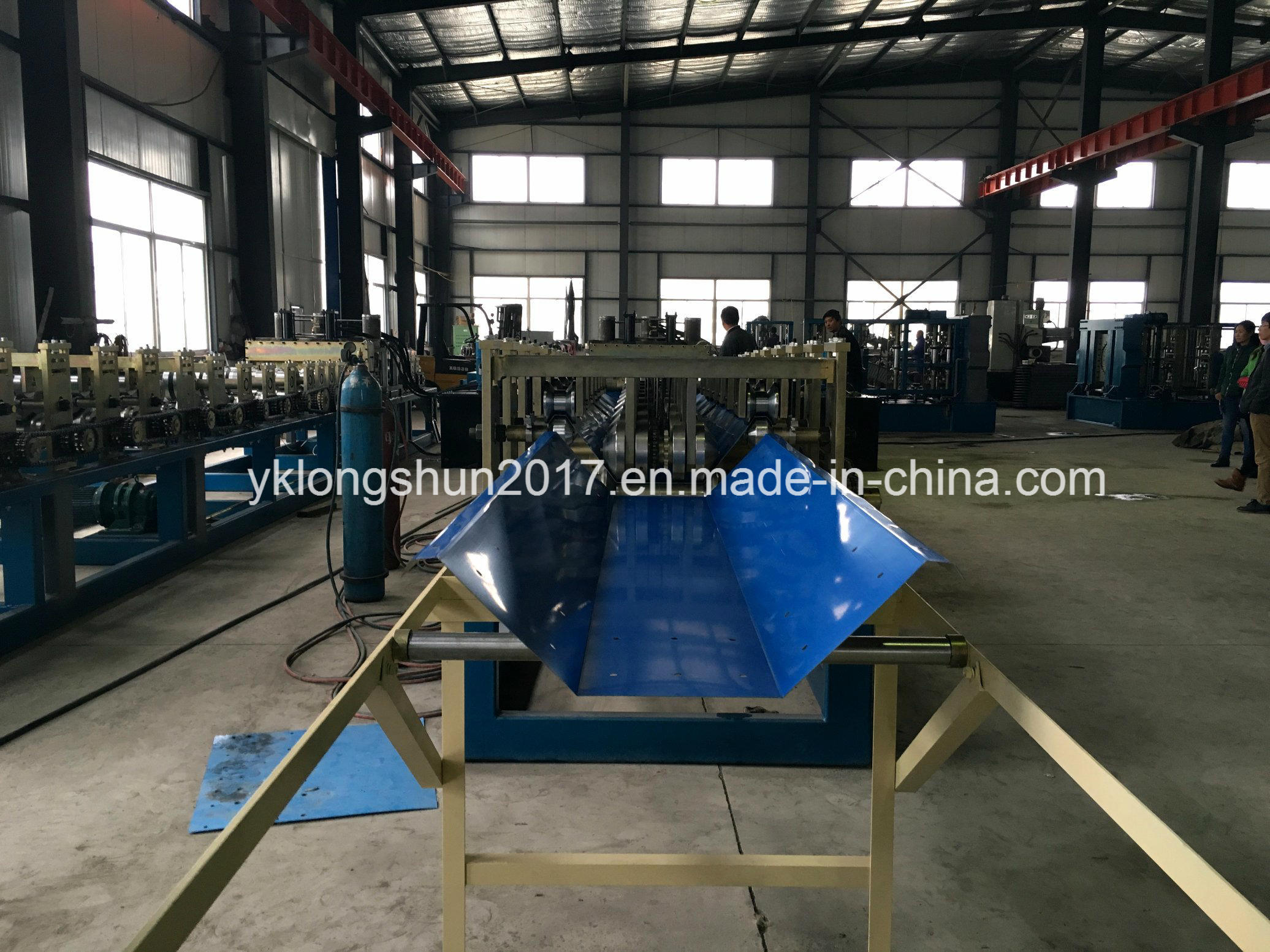 Screw Joint Arch Roof Roll Forming Machine