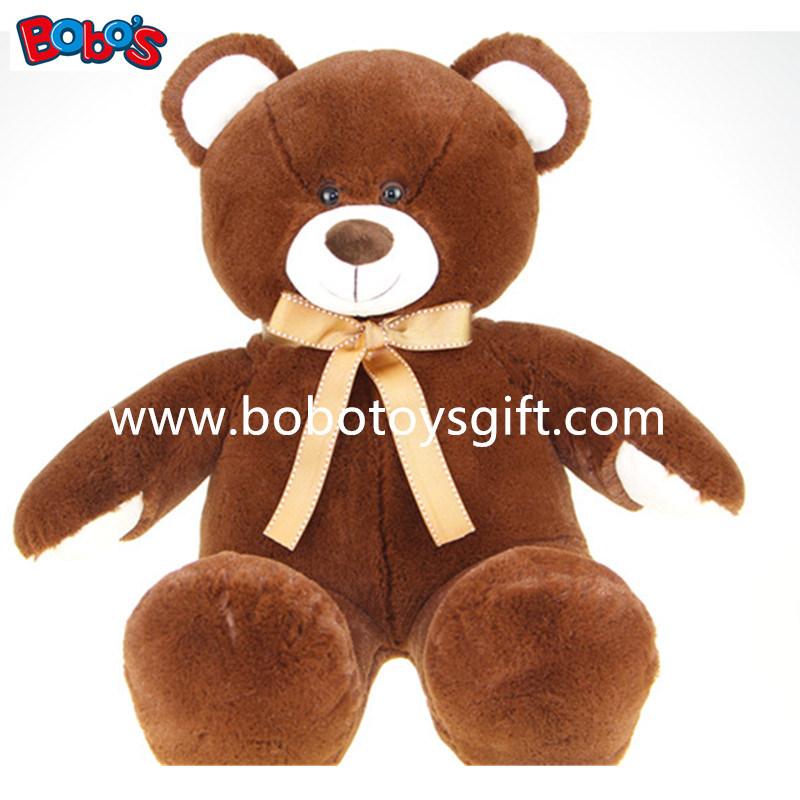 Cute Plush Tan Teddy Bear Toy Be Children′s Good Partner.