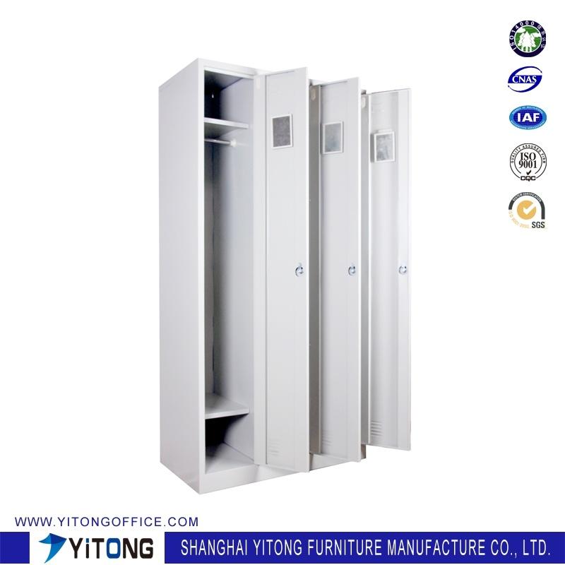 Yitong 3-Door Metal Storage Cabinet / Office Use Steel Locker
