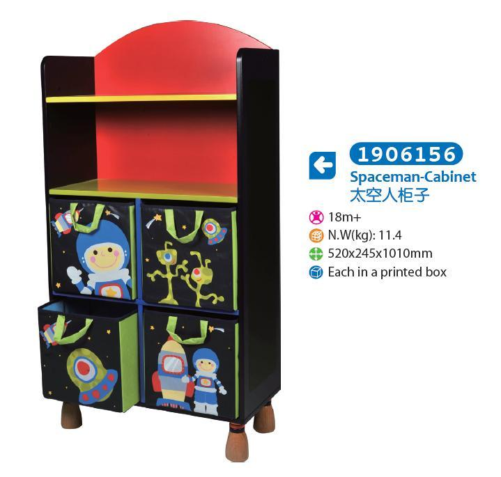 Wooden Cabinet Storage Cabinet for Kids for Children