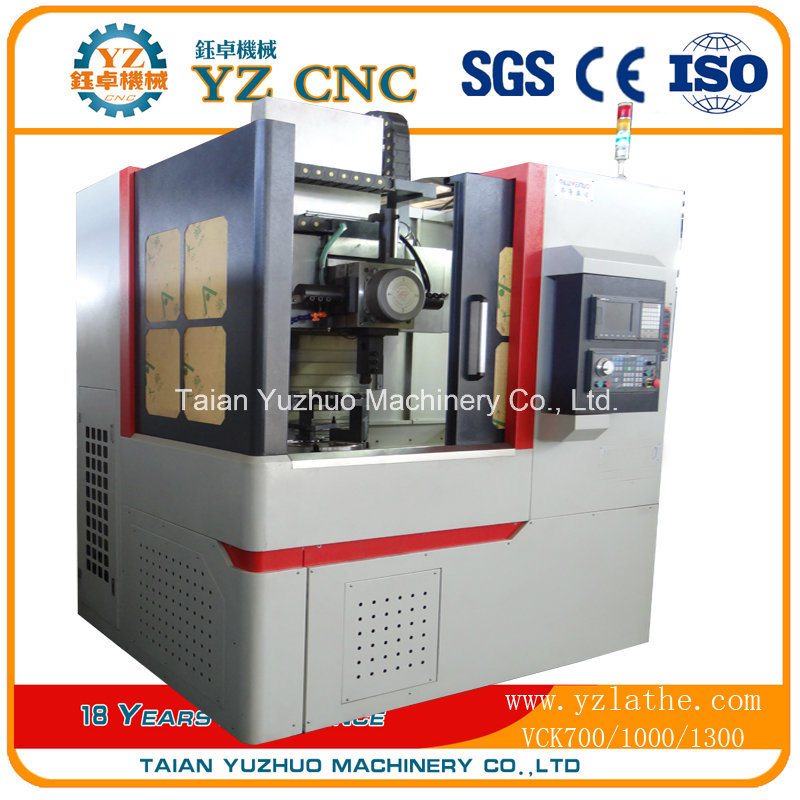 High Precision Vertical CNC Lathe Vck700
