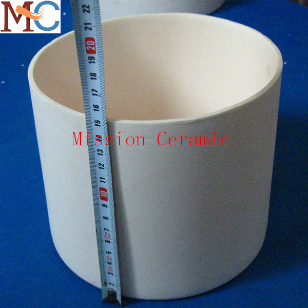 Good Quality Refractory Alumina Ceramic Crucible