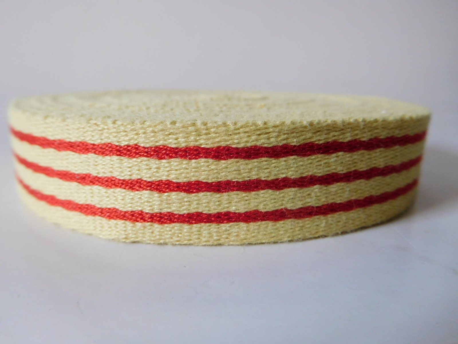 20mm Aramid Fiber Webbing for Fire Safety Garment and Accessories