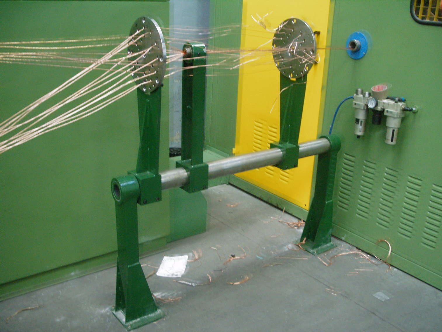 Double Twist Cable Stranding Machine