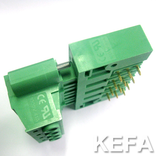 PCB Plugable Terminal Block with Side Lock Anti-Vibration