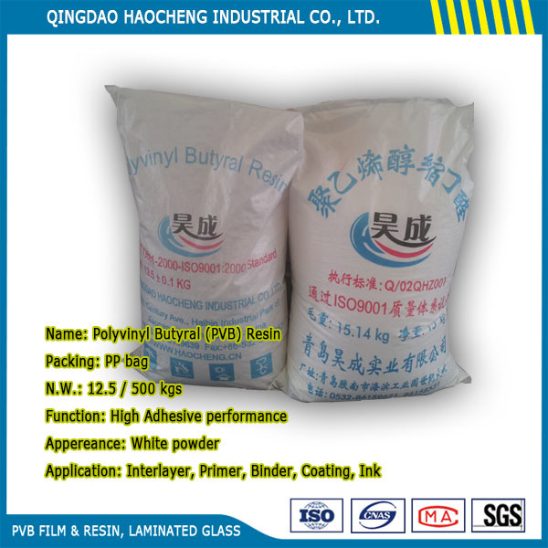 Competitive Price Low Viscosity Polyvinyl Butyral (PVB) Resin for Coating