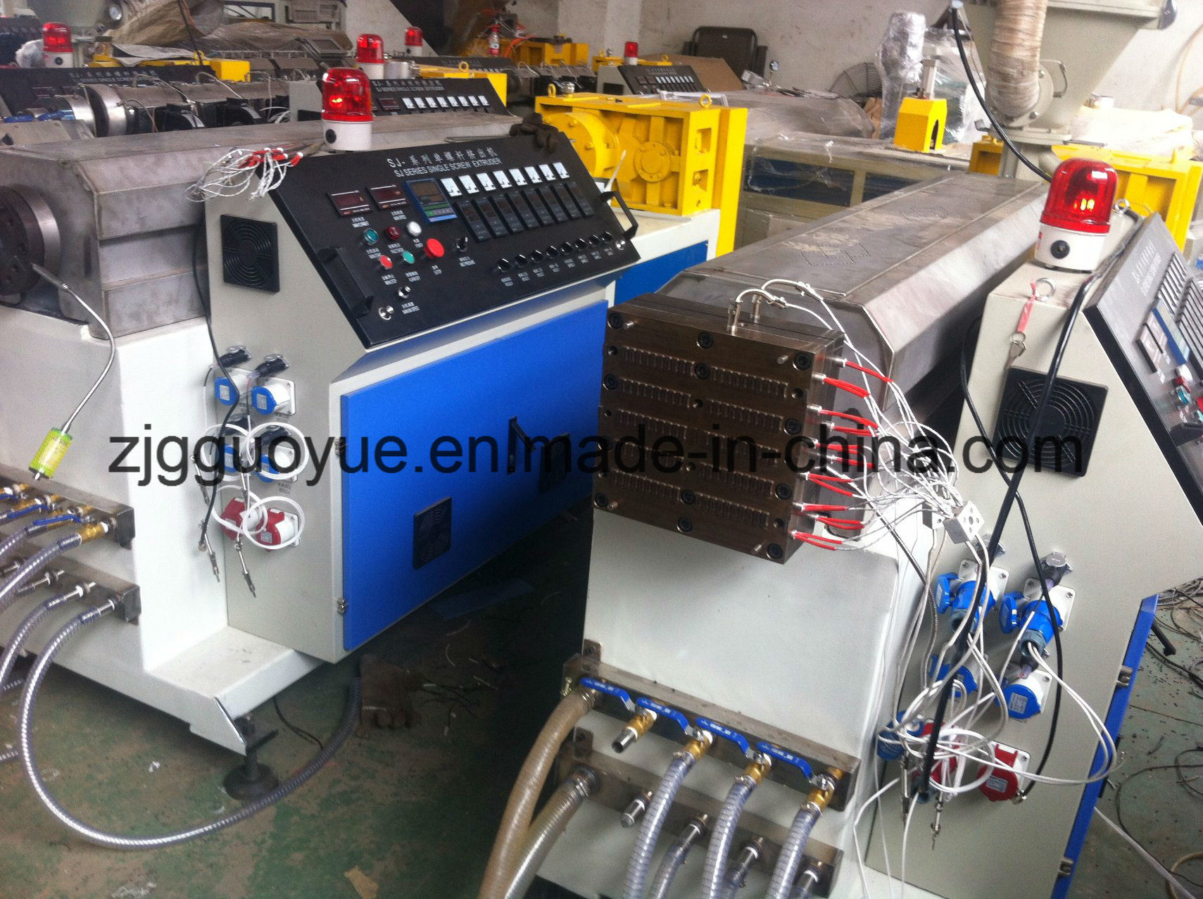 Polyamide Strip Extruder Machine for Thermal Barrier Aluminum Profile