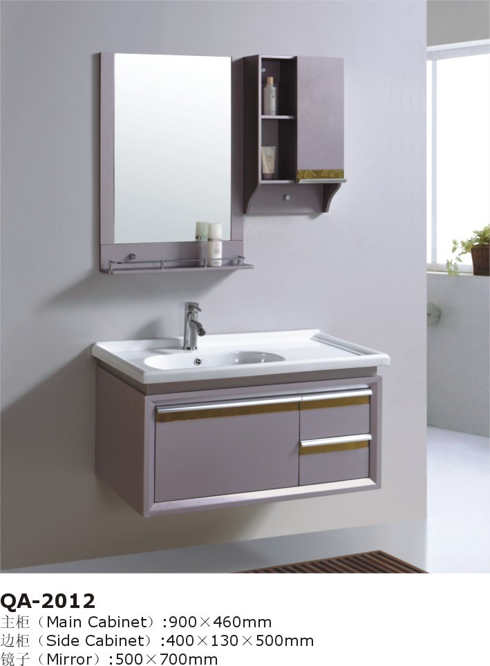 china gray wall mounted bathroom vanity basin cabinets gbw048 photos