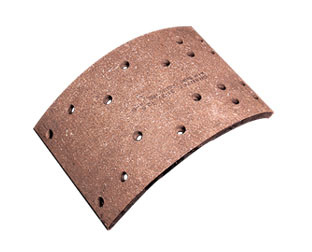 Red / Brown Brake Lining, Liner, Asbestos, Top Quality for Heavy Duty