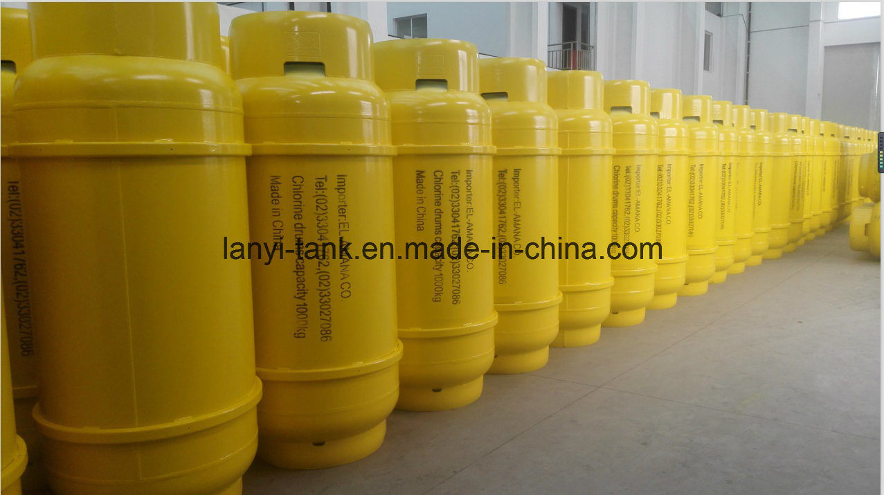 GB5100 and En14208 Standard 400L, 840L, 1000L Steel Welding Gas Cylinder for R-12