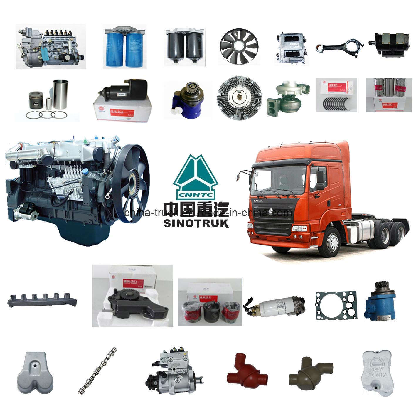 China cnhtc haoyun truck spare parts china haoyun truck for Mercedes benz parts distribution center carol stream il