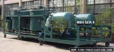 Nsh Engine Oil Recycling and Regeneration System