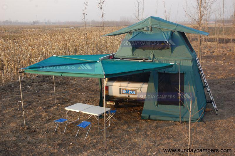 xtm manual roof top tent
