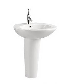 Pedestal Hand Basin : ... Wash Hand Basin With Pedestal C11061 - China Toilet Basin, Wash Basin