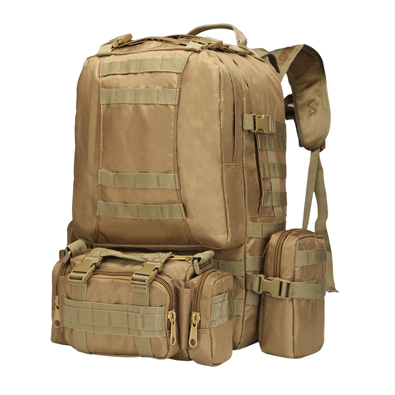 50L Backpacks Molle Assault Tactical Outdoor Military Rucksacks