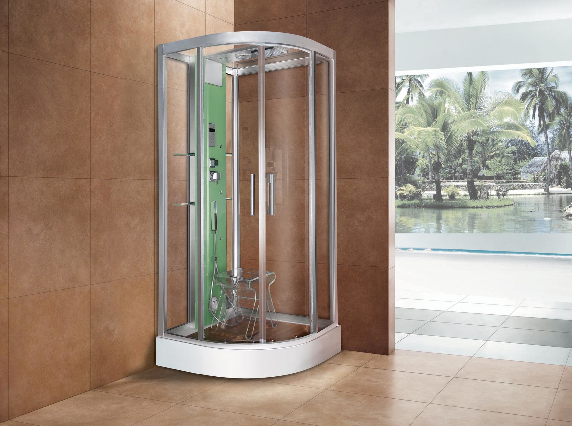Steam Shower Room (WN-1218)