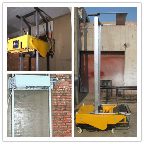 Automatic Rendering Machine Auto Wall Plastering Machine