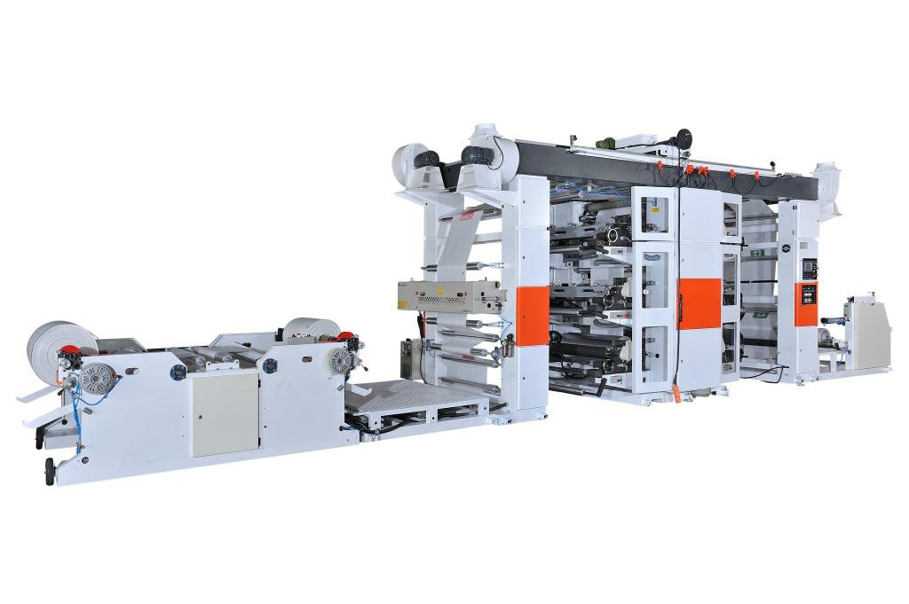 Flexographic Printing Machine (Roll to Roll)