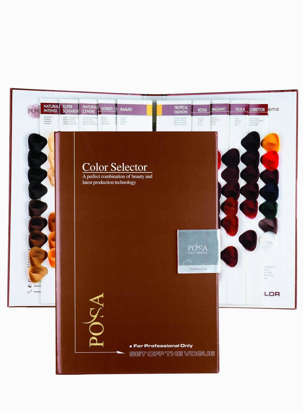 ... POSA Hair Color Chart - China Hair Color Chart, Color Swatch Book