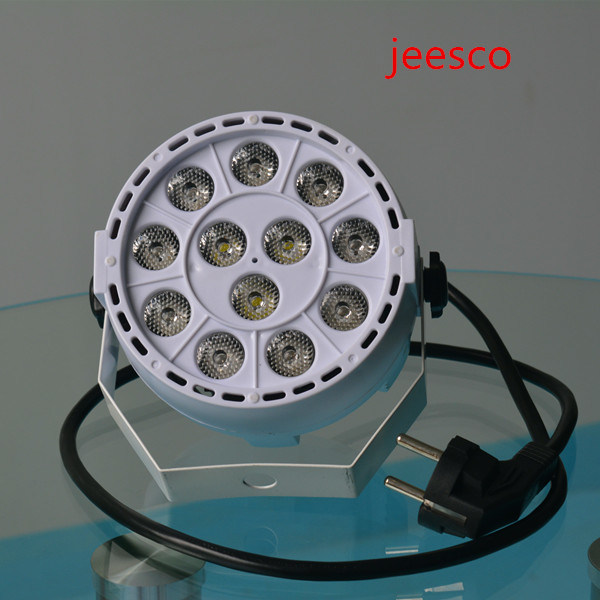 12PCS 3W RGBW LED Mini PAR Light for Stage/Nightclub/Disco