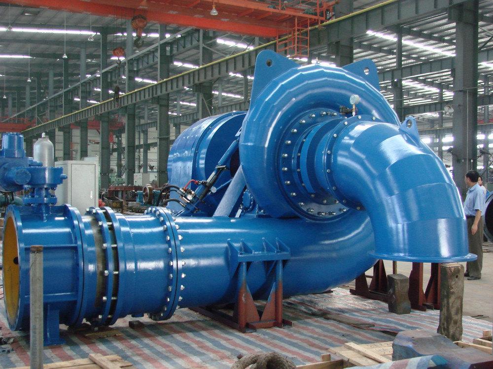 Hydro Power Plant/Water Turbine/Hydro Turbine-Generator Unit