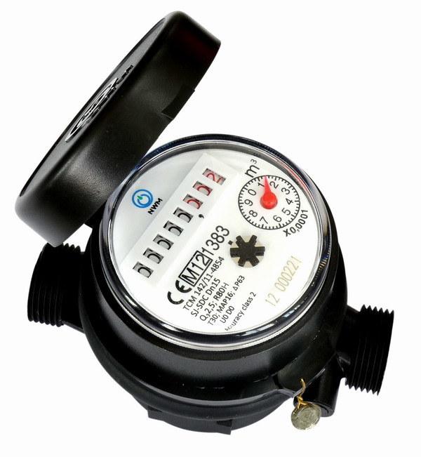 Single Jet Water Meter (D3)