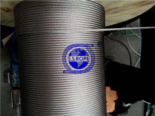 Stainless Steel Wire Rope 304 7X7-3.18mm