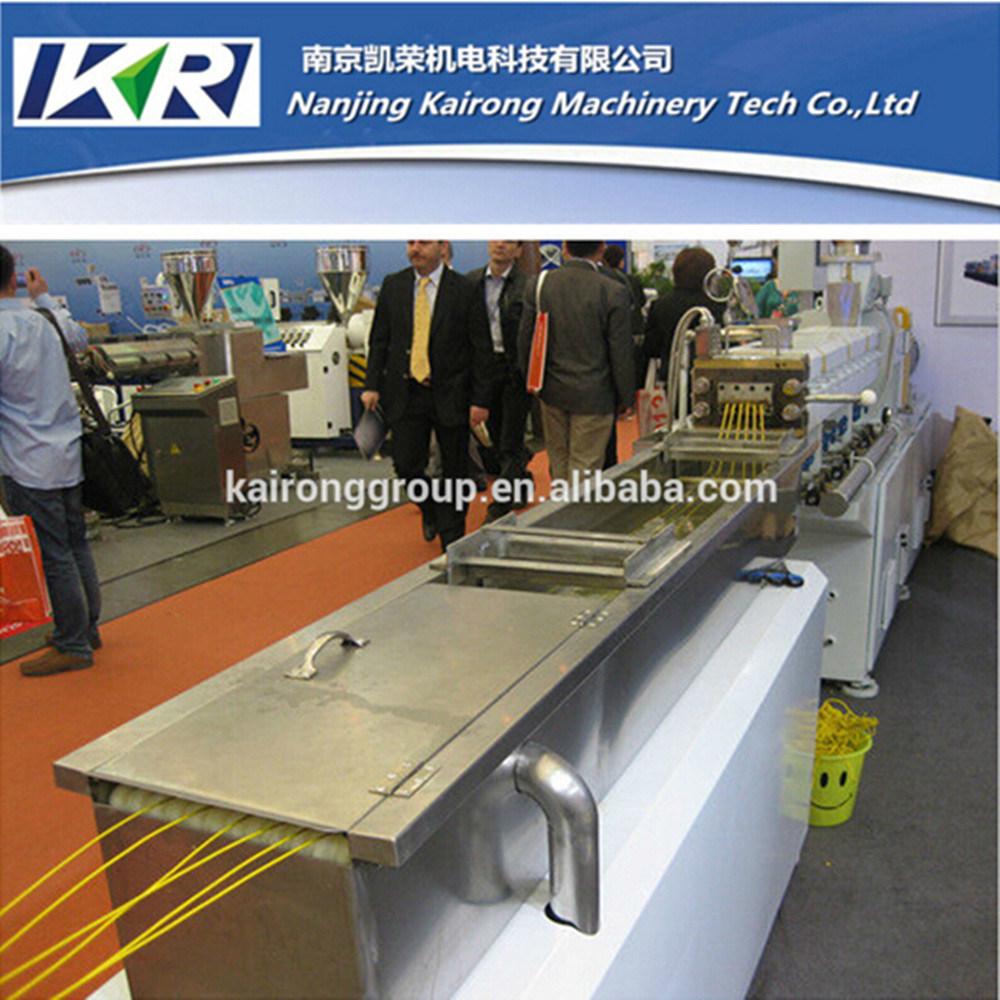 Nanjing Plastic Pellet Parallel Twin Screw Extruder Making Machine