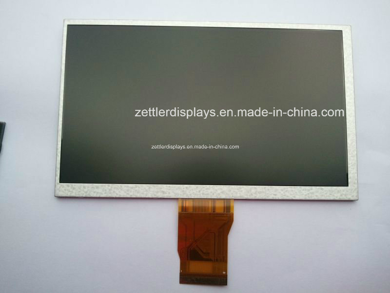 "7"" WVGA TFT LCD Display with Resistive Touch Panel: ATM0700d8b-T"