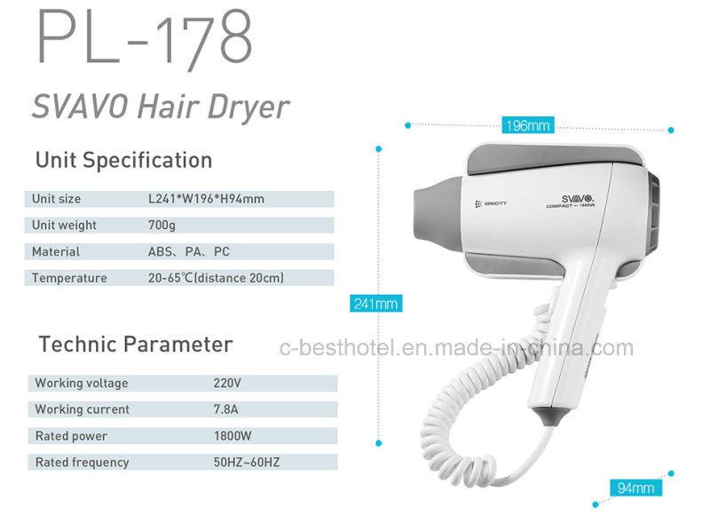 Fast Dry Hair Dryer Bathroom Hair Dryer V-173