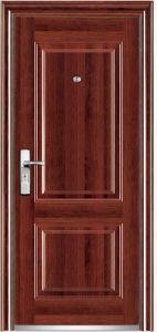 PVC Surface Steel Door
