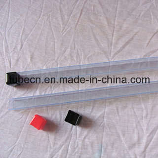 Transparent PVC Pipe with Soft Cap for Packaging