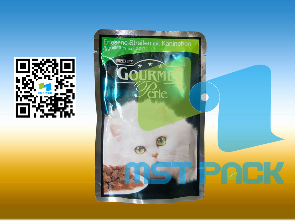 Pet Food Pouch, Stand up Pouch, Food Package