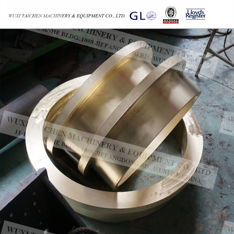 Steel Structure Fabrication Machined Parts Brass Bush OEM Steel Fabrication