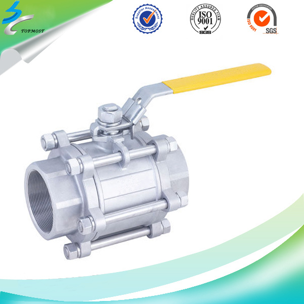 316 Precision Casting Full Bore High Plaform Ball Valve