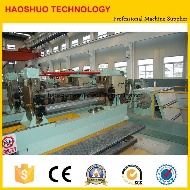 High Speed High Precision Steel Coil Slitting Machine