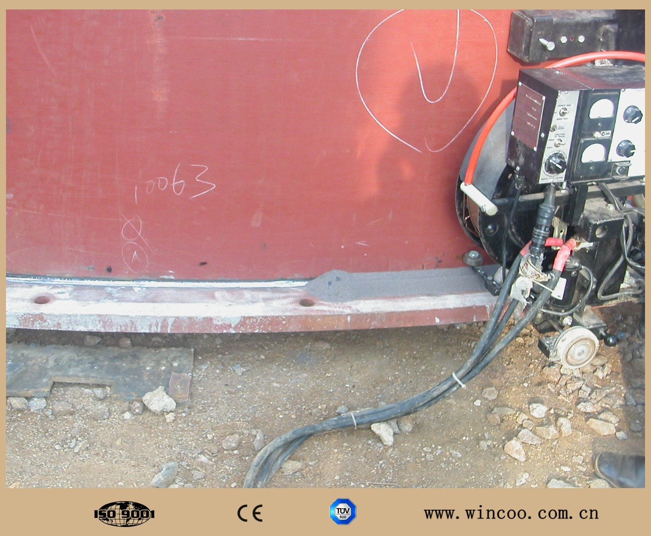 Tank Bottom Pate Welding Machine/ Automatic Welding Machine