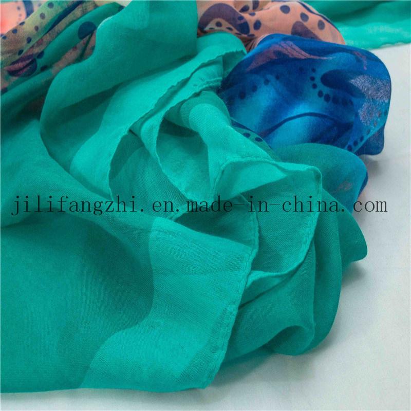 2016 New Polyester Scarf Muslim Hijab Fabric
