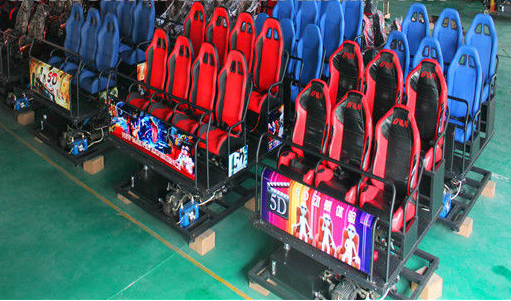 3D, 4D, 5D, 6D, 7D Simulation Ride Cinema