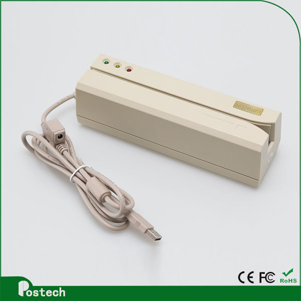 USB HID Magnetic Card Reader Don′t Need to Install Drivers
