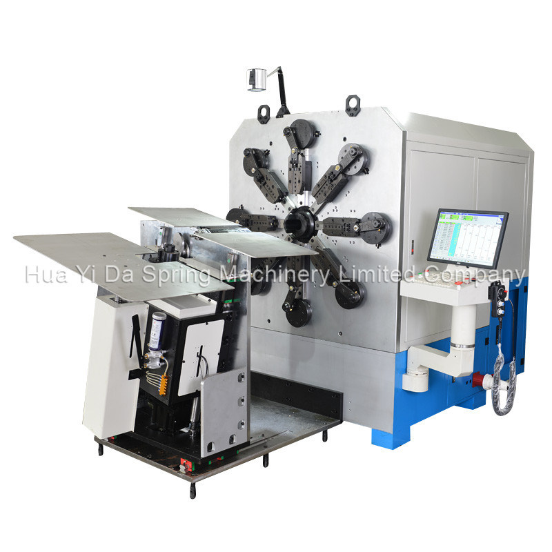 High-Efficient 16 Axis Multi-Functional Bending Machine & Spring Machine