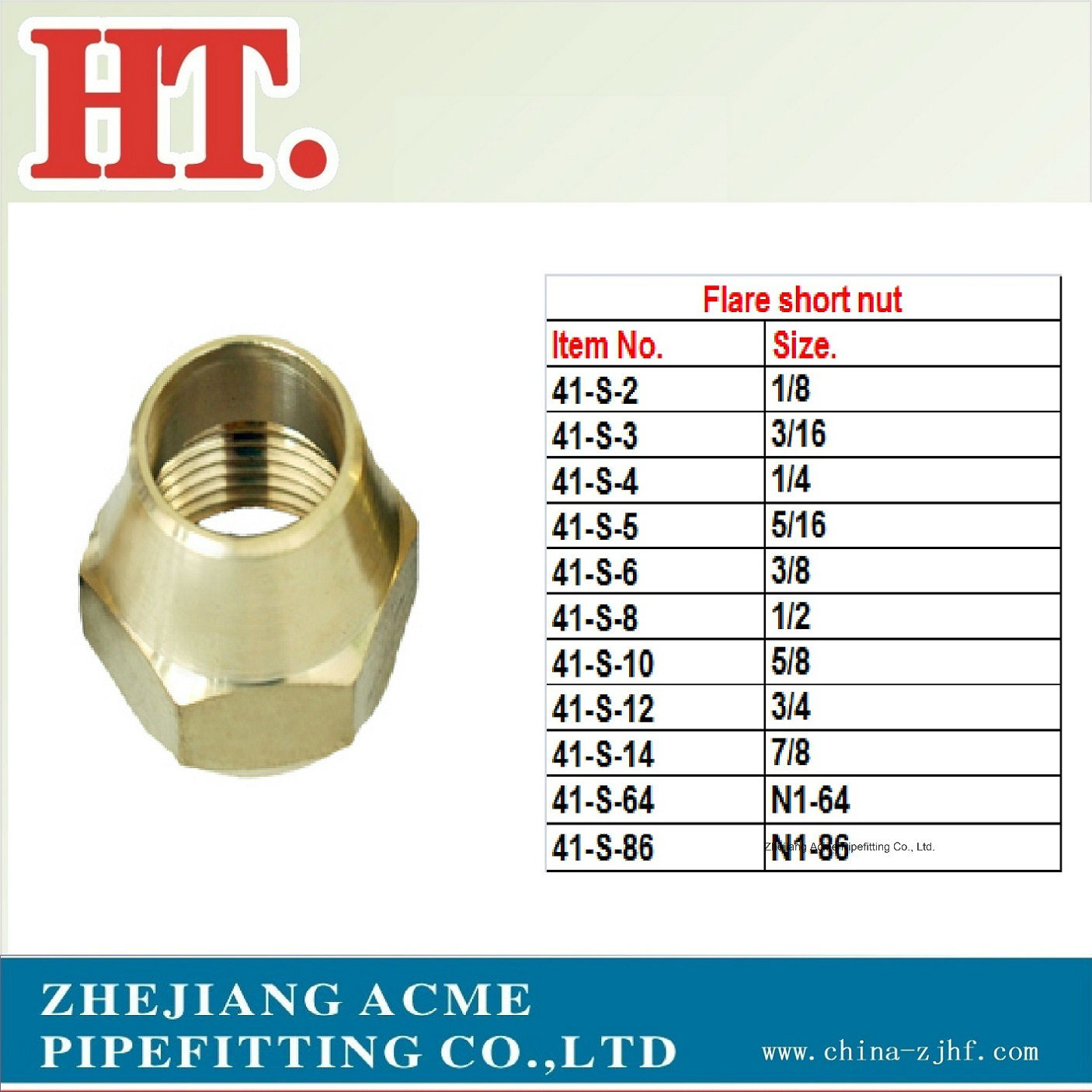 American Brass Flare Fittings