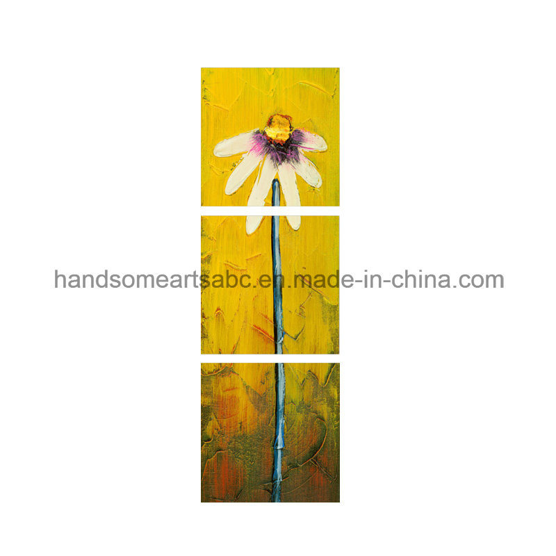 Canvas Printed Oil Painting Home Decor - a Daisy